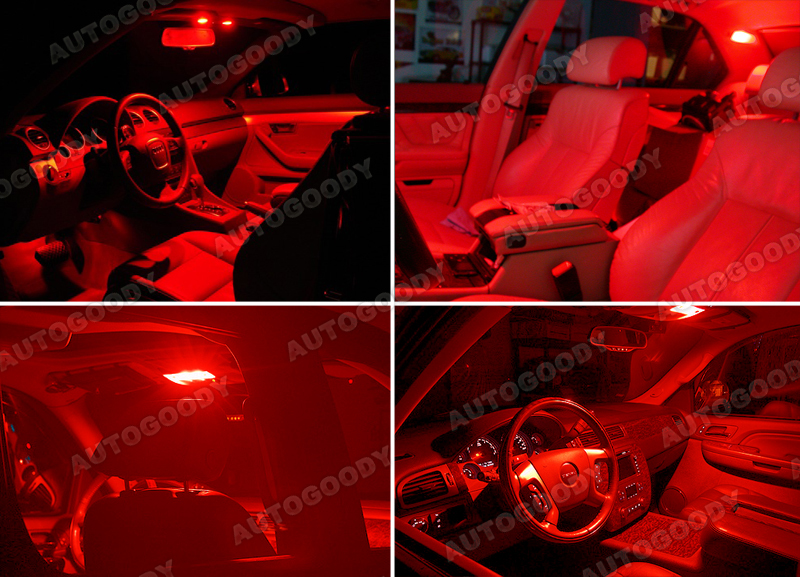 brilliant red led panels 30 smd dome map door light super bright ebay. Black Bedroom Furniture Sets. Home Design Ideas