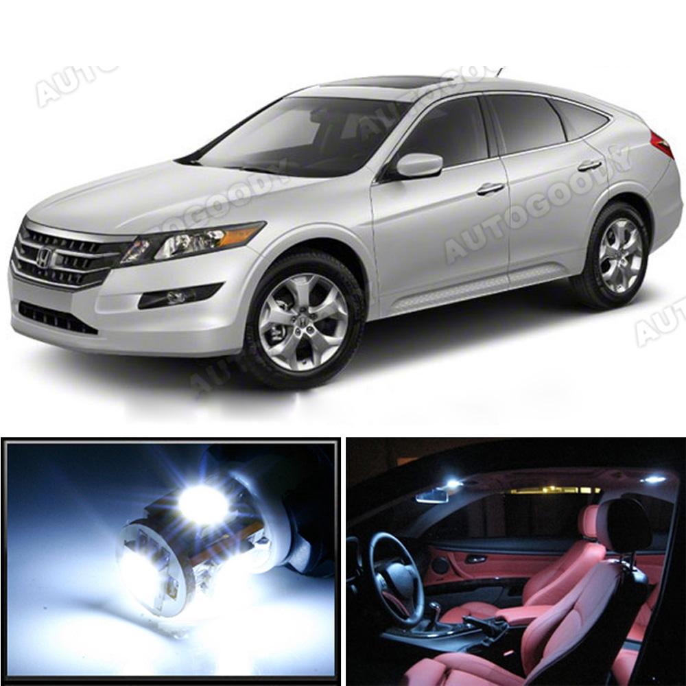 7 X Premium Xenon White LED Lights Interior Package For