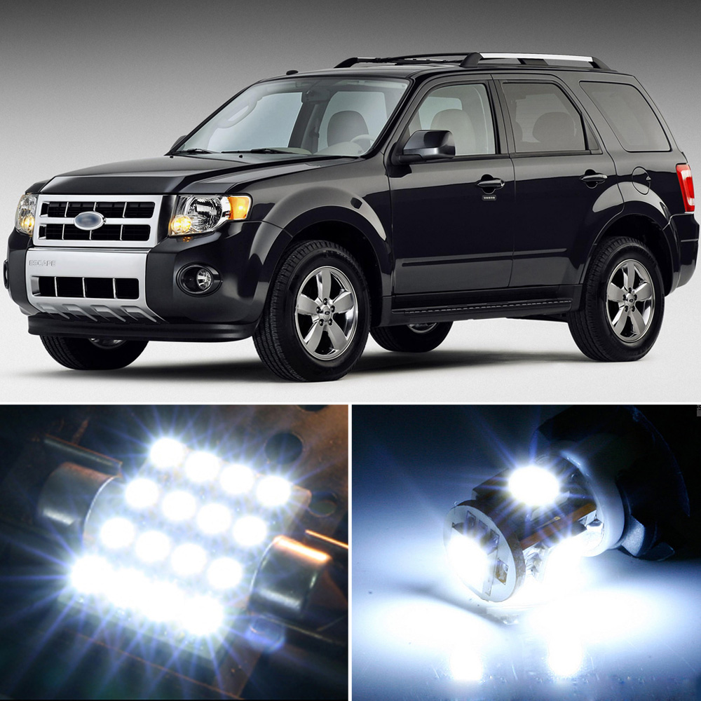 Ford Escape Interior Lights Not Turning Off: 11 X Premium Xenon White LED Lights Interior Package