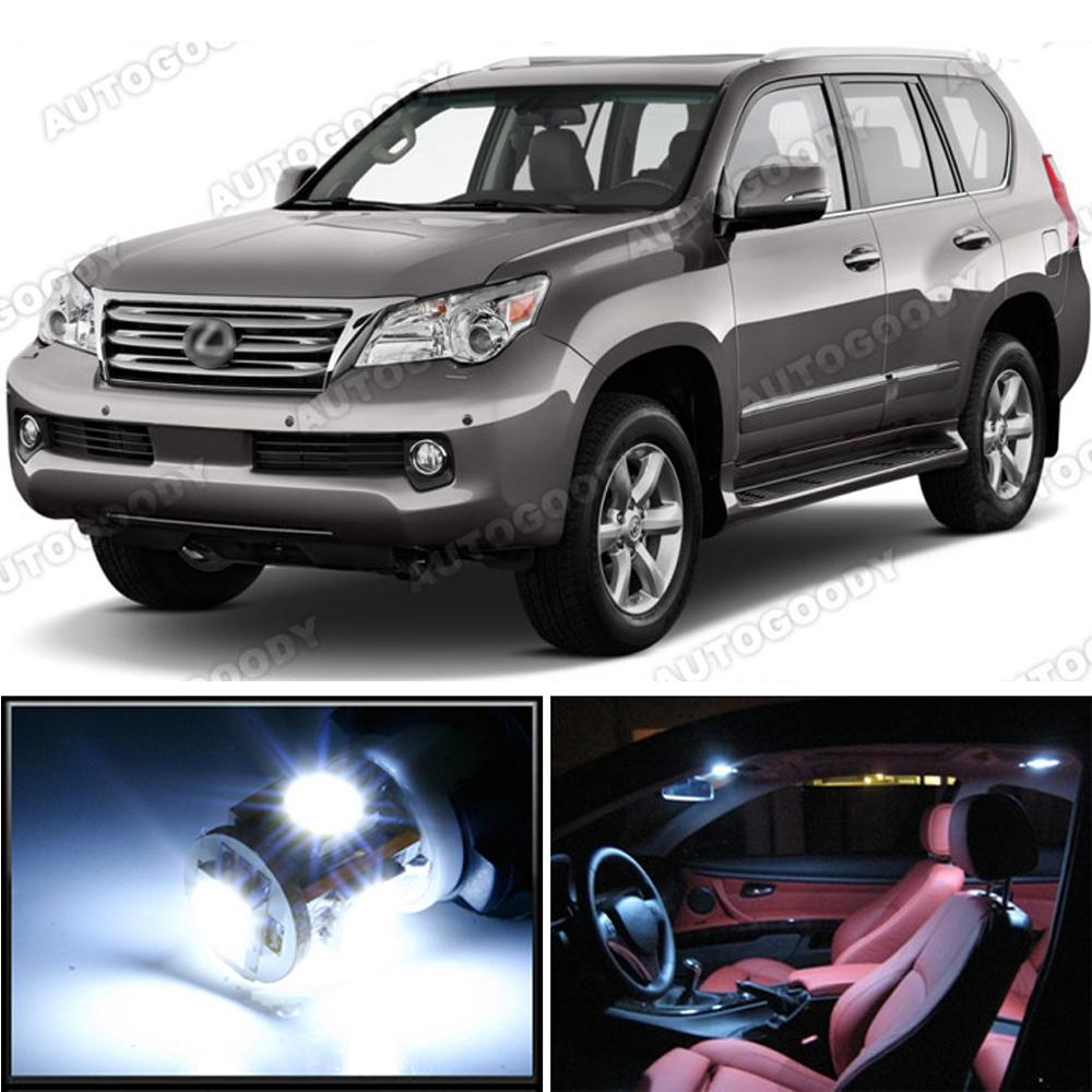 Lexus Crv: 16 X Premium Xenon White LED Lights Interior Package Kit