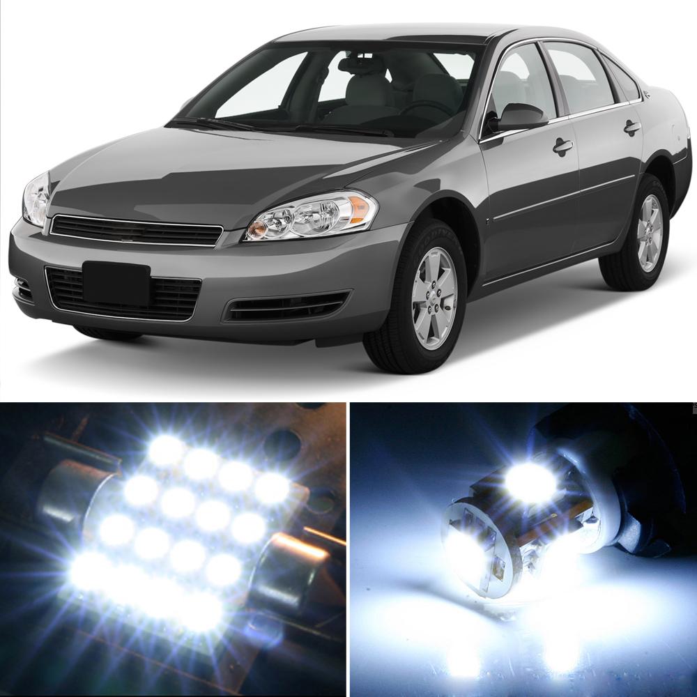 9 X Premium Xenon White Led Lights Interior Package Upgrade For Chevy Impala Ebay