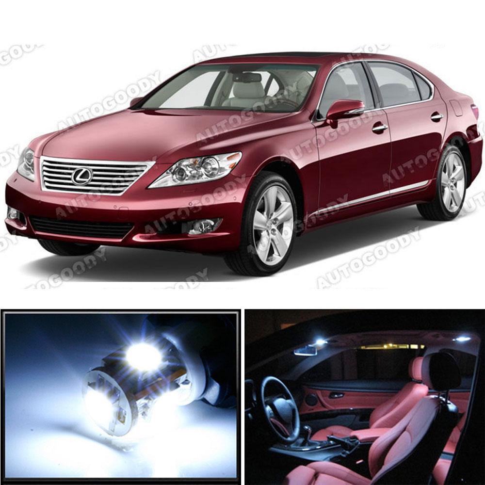2013 Lexus 460 For Sale: 13 X Premium Xenon White LED Lights Interior Package Kit