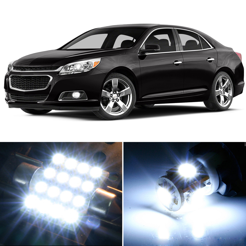 Chevy Malibu Interior Lights Wont Turn Off: Premium Xenon White LED Lights Interior Package Upgrade