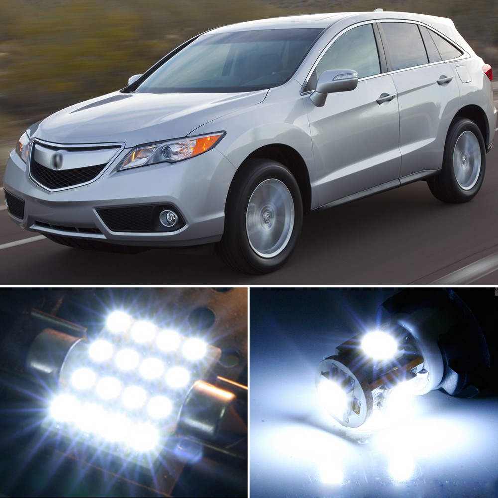2014 Acura Rdx Camshaft: 12 X Premium Xenon White LED Lights Interior Package Kit