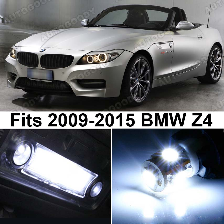 Bmw Z4 Engine Light: 10 X Premium Xenon White LED Lights Interior Package