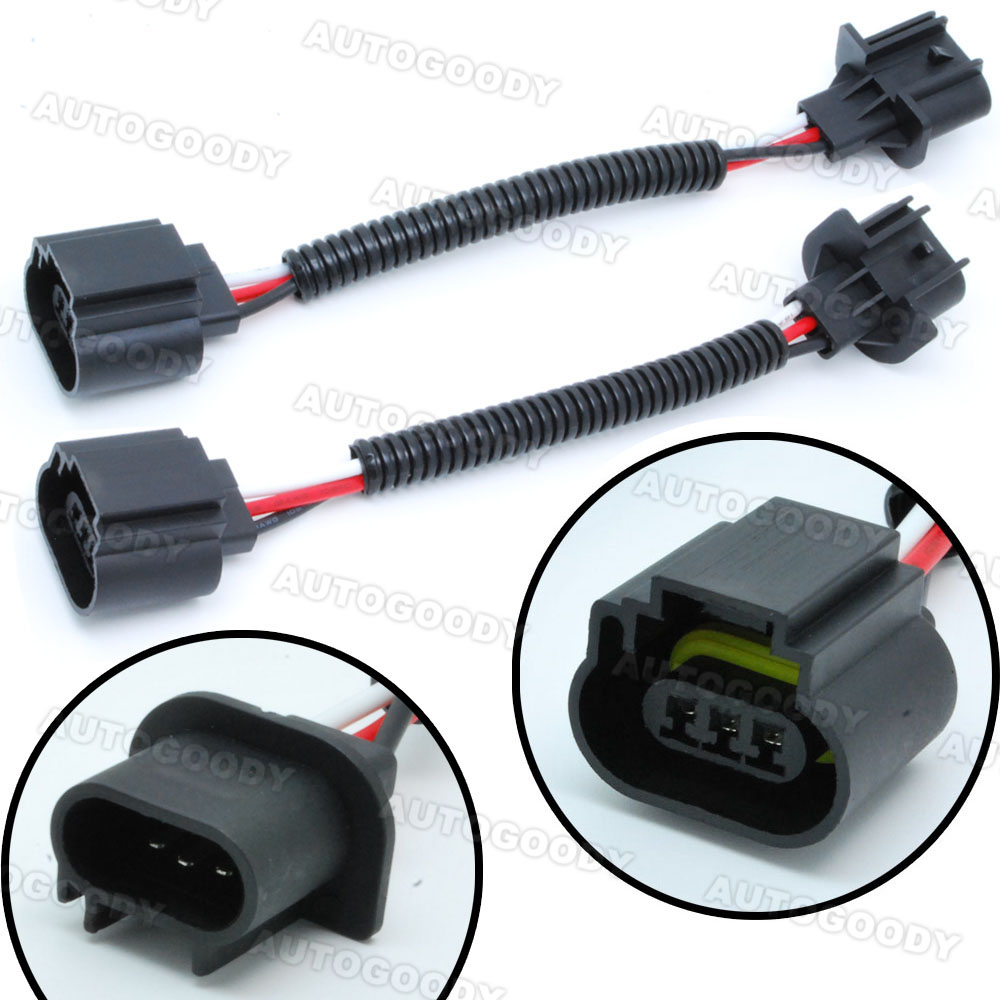h13   9008 wiring harness socket connector plug extension headlight socket wiring headlight socket wiring