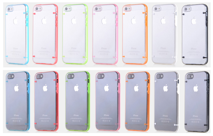 Transparent Hard TPU Case Cover for iPhone 5   5SIphone 5s Cases Ebay