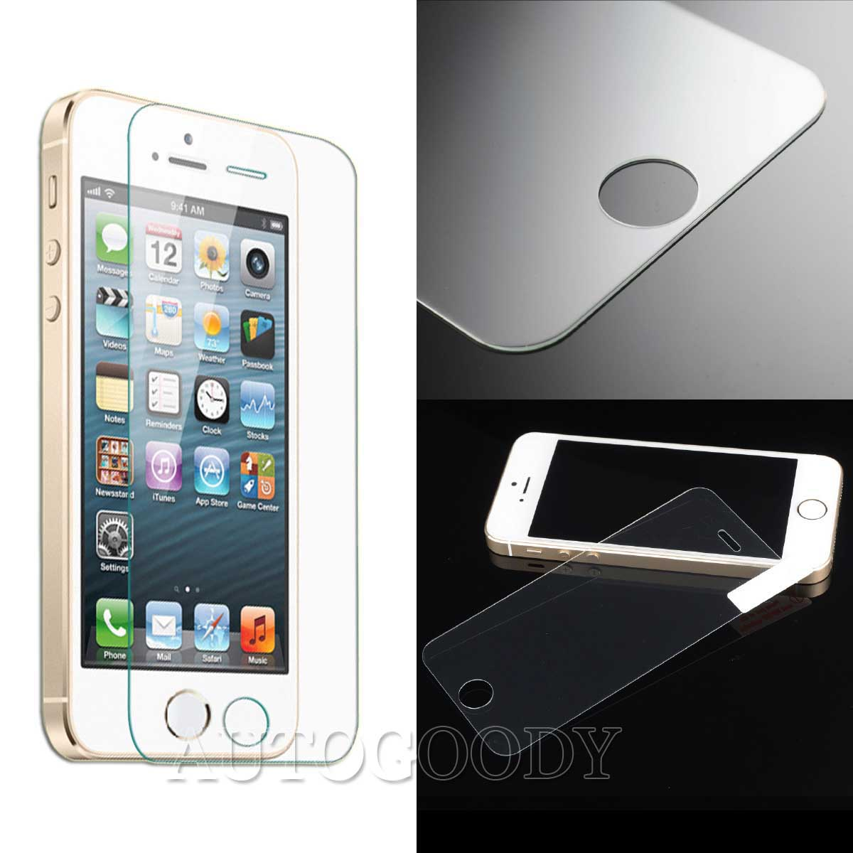 iphone 5s glass ultra slim premium hd tempered glass screen protector for 11200